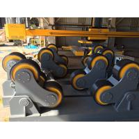 Quality Self Adjustable Welding Turning Rolls Rotator With 80 Ton Loading Capacity for sale
