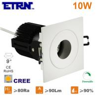 Wholesale ETRN Brand CREE COB Square 2.5 inch 10W Dimmable LED Downlights Ceiling Lights Recessed from china suppliers