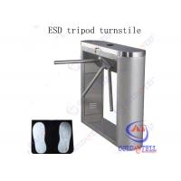 Wholesale Fingerprint And RFID turnstile security systems , Semi auto train station turnstile from china suppliers