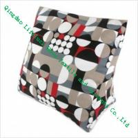 Wholesale Cotton Decorative Bolster Pillows , Comfortable Lumbar Back Support Cushions from china suppliers