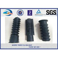 Wholesale Black Plastic And Rubber Part Railway HDPE And PA66 Dowel For Screw from china suppliers