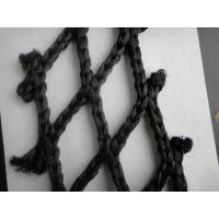 Wholesale Black Super PE HDPE Fishing Nets / Fish Catching Net , Single / Double knotted from china suppliers