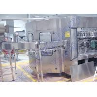 Wholesale PLC Control Carbonated Beverage Filling Machine , Soft Drink Bottling Machine from china suppliers