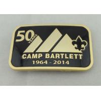 Wholesale Camp Bartlett Custom Made Buckles Zinc Alloy  With Wiped Imitation Hard Enamel from china suppliers