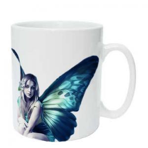 Buy cheap 11oz white coated mug from wholesalers