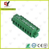 Wholesale PA66 Material Connector Plug in Terminal Block 0.4Nm Torque  2.5mm² from china suppliers