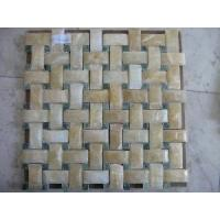 Wholesale Yellow Onxy Mosaic Tiles (LY-141) from china suppliers