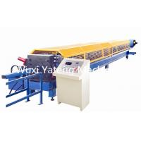 Buy cheap High Efficiency Mobile Stainless Steel Roll Forming Machine , Gutter Maker Machine 11m * 1.5m * 1.5m Size from wholesalers