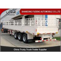 Wholesale 40 Feet Multi Axles Cattle Transport Trailers For Animal Bulk Grain Transport from china suppliers