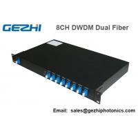 Wholesale 100Ghz DWDM 8 Channel Multiplexer and Demultiplexer in unit dual fiber from china suppliers