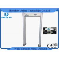 Wholesale IP67 Level Multi Zone Portable Metal Detector Gate With Visual Alarms Indicator from china suppliers