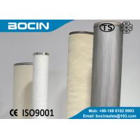 Buy cheap Natural gas liquid separation Cartridge Filter Element for gas separation filtering system from wholesalers