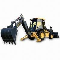 Wholesale Backhoe Loader with Reliable Genuine Cummins Engine and 74kW Rated Output from china suppliers