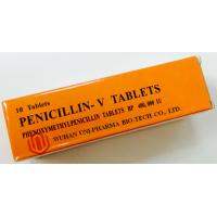 Quality Western Medicine Tablets Phenoxymethylpenicillin Tablets Bp 400,000IU For Bacterial Treatment for sale