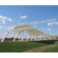 Wholesale Membrane Structure Commercial Steel Building With PVC PVDF PTFE from china suppliers
