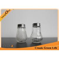 Wholesale 100ml Pepper / Sauce Glass Bottles With Liner and Shaker Lid , Glass Spice Bottle from china suppliers