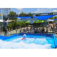 Wholesale Customized Flow Rider Wave Fiberglass Surfing Machine Amusement  for Water Park from china suppliers