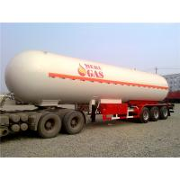 Wholesale Heavy Duty 3 Axle Semi Trailer / 50000 L LPG Tank Semi Trailer 50M3 56000 L 25 tons from china suppliers
