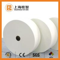 Wholesale White Polyester Non Woven Fabric Cotton Nonwoven Raw Material Customised from china suppliers