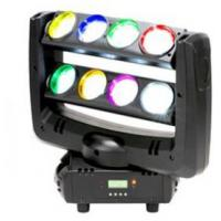 Wholesale Black Case LED Double Row 8-eyes 4-In-1 RGBW  Unlimited Spider Moving Head Beam Light from china suppliers