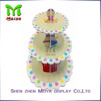 Wholesale New Year Party Pack Cardboard Cake Stands , cardboard cupcake tower from china suppliers