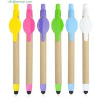 Wholesale eco paper screen touch pen for phone,gift promotion ballpoint pen from china suppliers
