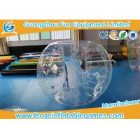 Wholesale 1.8M TPU Inflatable Bumper Ball , Body Zorb Ball With 3 Years Warranty from china suppliers