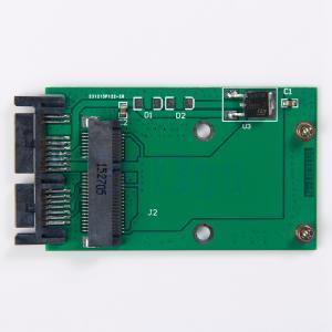 """Wholesale Mini PCIe PCI-e MSATA SSD à 1,8 """"carte Micro adaptateur SATA PCBA HG from china suppliers"""