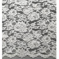 Wholesale Nylon Bridal Lace Fabric With Flower and Leaf Pattern from china suppliers