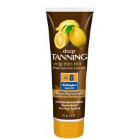 Wholesale 236ml super-luxurious lemonate deep bronzer tanning lotion with SPF8 from china suppliers
