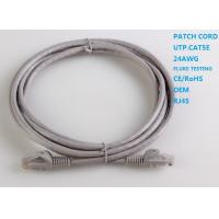 Buy cheap PVC Jacket Stranded  Bare Copper Indoor CAT6 Patch Cables 3m UTP from wholesalers