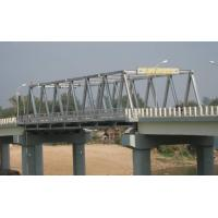 Quality High Stiffness Steel Truss Bridge Professional With Double lanes for sale