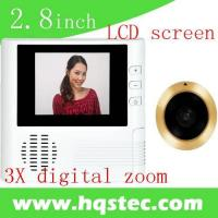 Wholesale 2.8-inch Digital Door Viewer with 3x Digital Zoom and high definition of 0.3megapixel HQS1010 from china suppliers