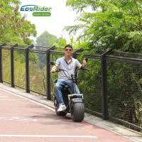 Quality EEC Approved 2 Wheel Electric Scooter , 1200W Motor Harley Two Wheel Electric Bicycle for sale