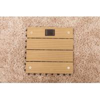 Wholesale Interlocking Solar light floor tile WPC decks RMD-SL04 from china suppliers