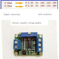 Wholesale Current to voltage conversion module signal conversion conditioning 0~5v 3.3V 10V 15V 4~20ma transmitter from china suppliers