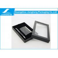 Wholesale Pen And Notebook Paper Packaging Box Recyclable With Clear Window On Top from china suppliers