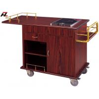 Wholesale Kitchen Flambe Cooking Trolley with Induction Cooker for Hotel from china suppliers