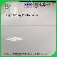 Quality Factory supply 250g cast coated one side coated inkjet photo paper for sale