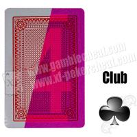 Wholesale Poker Side Bin Li Paper Marked Cards / Red Invisible Poker from china suppliers