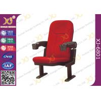 Wholesale Fabric Cushion Spring Recovery Theater Chairs , Commercial Cinema Seating from china suppliers