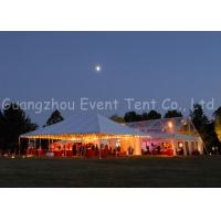 Wholesale Prefab Clear Span Tent  Modern Luxury Decoration For Festival / Buffet Dinner from china suppliers