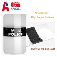 Wholesale Safety Riot Shield Military Police Security Protection Polycarbonate Anti Riot Shield from china suppliers
