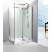 Wholesale 0.477 CBM / Set Square Shower Cabin 1200 Hinged Shower Door With Frame from china suppliers