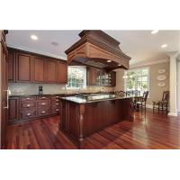 Quality American Style RTA Kitchen cabinet with large kitchen island for sale