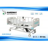 Wholesale Silent Safe Lock ICU Hospital Bed With X Structure Based , Multi - Angle Motion from china suppliers