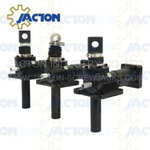 10 Ton Machine Screw Jack Lifting Screw Diameter 58MM Lead 12MM Gear Ratio 8:1 and 24:1