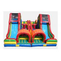 Wholesale CE Certificate Colorful Inflatable Assault Course Rental , Inflatable Course For Amusement Park from china suppliers