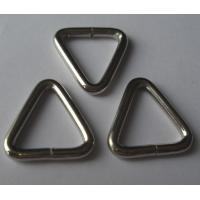 Wholesale 1.5 inches iron triangle buckle for sale from china suppliers