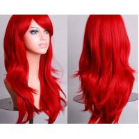 Wholesale Colorful Curly Cosplay Wig Long Hair Heat Resistant Spiral Costume Wigs from china suppliers
